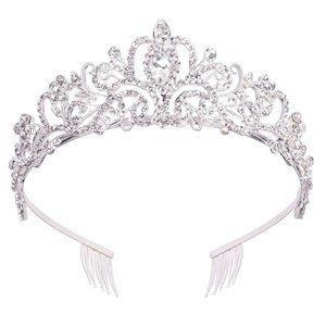 Tiara Crown Headband Princess Elegant Crown